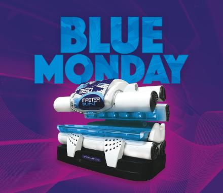 Blue Monday - Sun Music | Centros bronceado | Solarium | Rayos UVA Madrid Centro