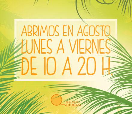 ¡Abrimos en Vacaciones! - Sun Music   Centros bronceado   Solarium   Rayos UVA Madrid Centro